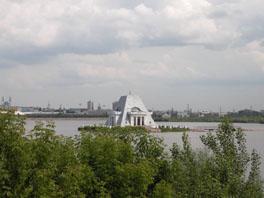 Остров на реке Казанке