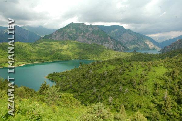 Озера Кыла-Коль и Сары-Челек