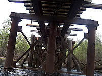 ж/д мост: узкоколейка Бакшеево-Шатура
