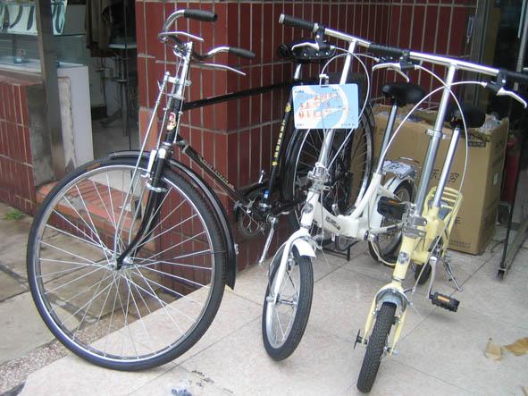 Чудеса китайского велопрома…