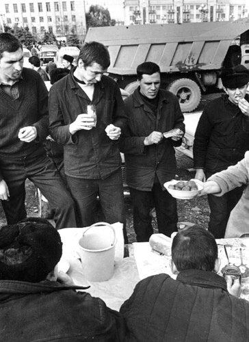 Будущие наёмники вкушают плоды ичкерийской демократии