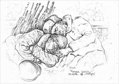 Рисунок Олега Дедова