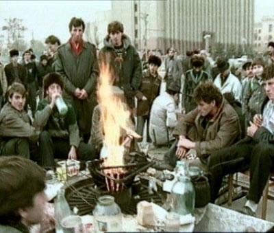 У Вечного Огня в г. Грозном