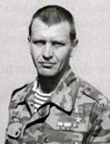 Командир 173 ооСпН майор Владимир Владимирович Недобежкин