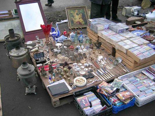 Блошиный рынок в салтыковке альбом для советских