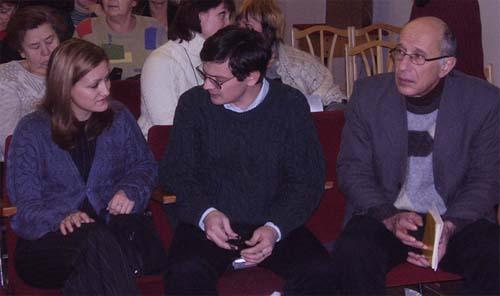 Юлия Сычева, Павел Крючков, Самуил Лурье
