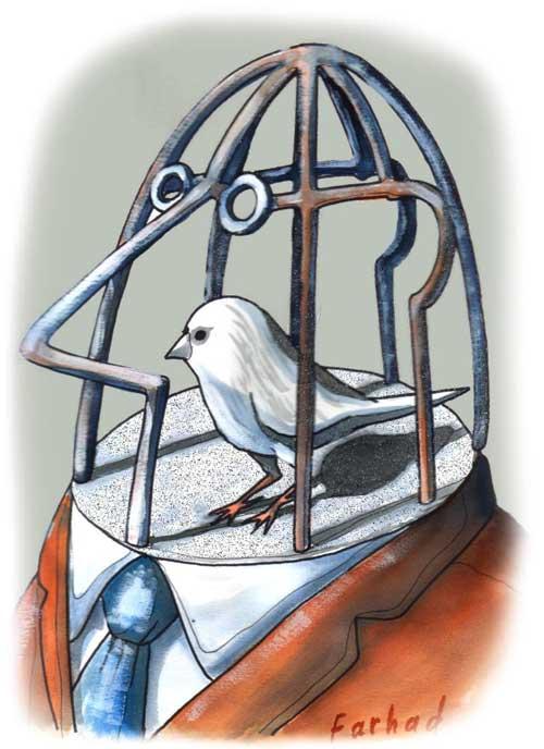 Farhad, Птичка в Клетке