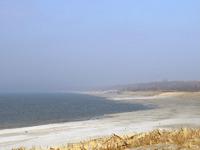 В районе Балтийска берега моря очень пологие