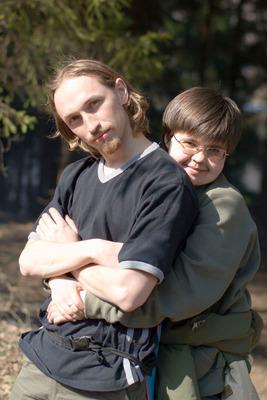 Илья с Полиной