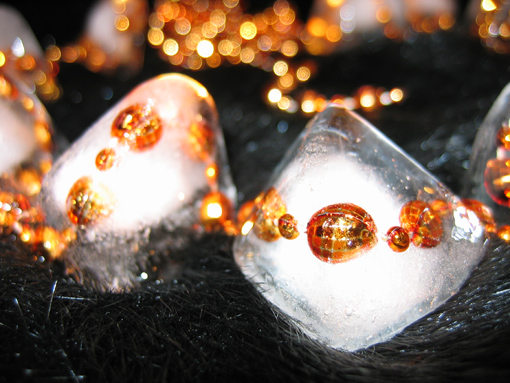 Ледяные бусы