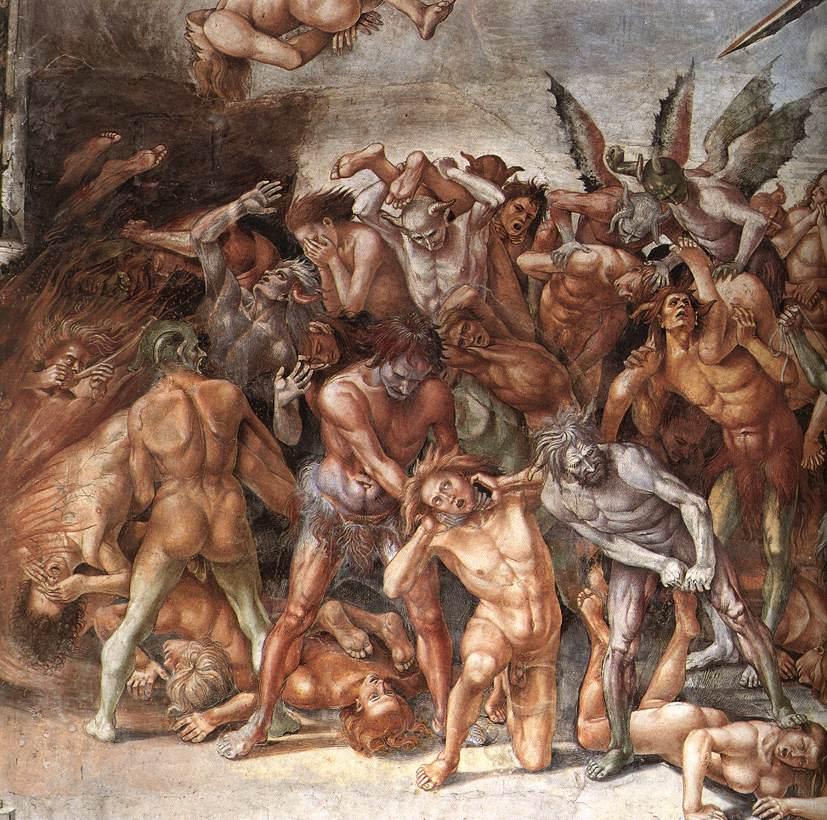 Картинки бесы в аду
