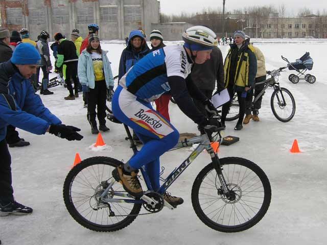 Александр Шубин - старт гонки преследования