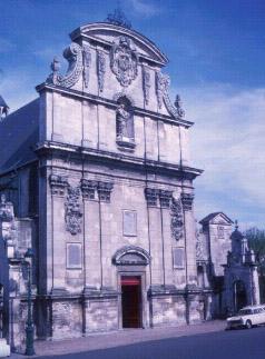 Фасад церкви St. Bruno. Современный вид.