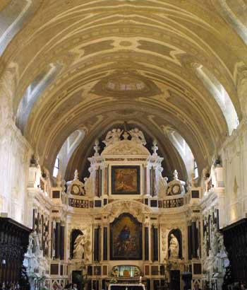 Интрерьер церкви St. Bruno