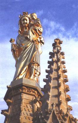 шпиль колокольни