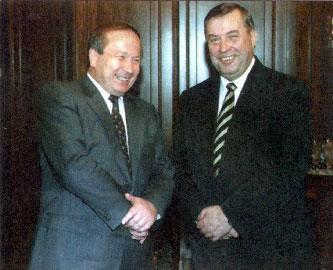 К обоюдному согласию. С Г.Селезнёвым. Москва, 1998 г.
