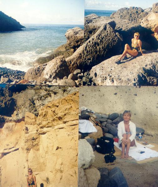 Canary millenium olhanninen ocean swim rocks 2000