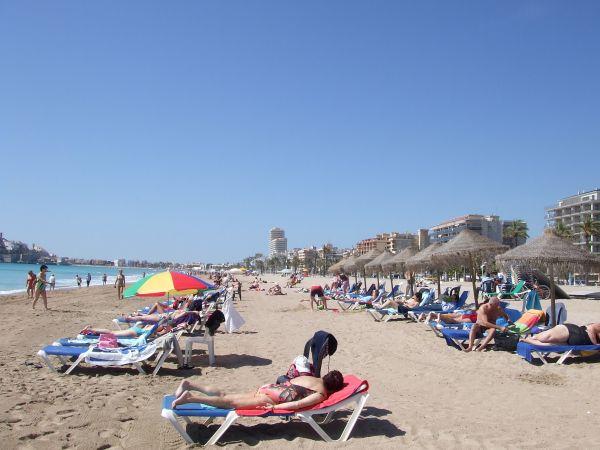 +zoom+ playa Peniscola