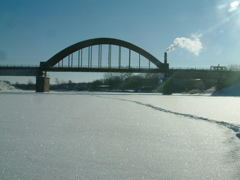 Хотча. Мост