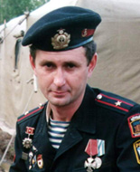 Командир 1 дшр гв. ст.лейтенант Игорь Васильевич Крещенок
