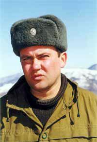 подполковник 693 мсп Виктор Овсянников