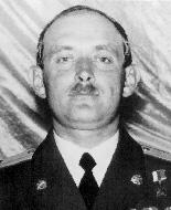 Командир адн 1182 ап майор Александр Валентинович Силин