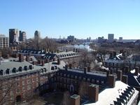 Harvard and Charles river
