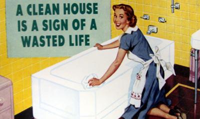 Чистый дом - знак впустую потраченной жизни