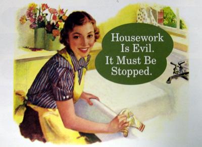 Домашняя работа - зло. Оно должно быть прекращено.