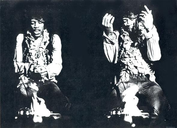 ДЖИМИ ХЕНДРИКС В МОНТЕРЕЕ. 1967