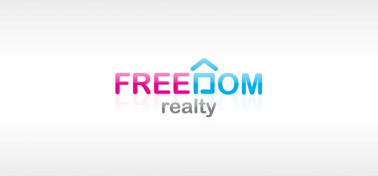 Логотип Freedome realty | агентство недвижимости