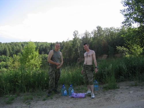 идём на водопой за стрельбищем - 4