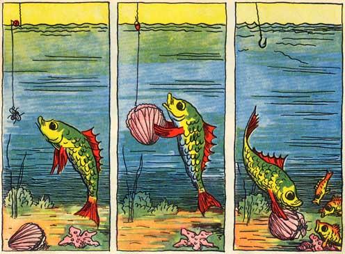 бархану рассказ по серии картинок рыбалка большими карими