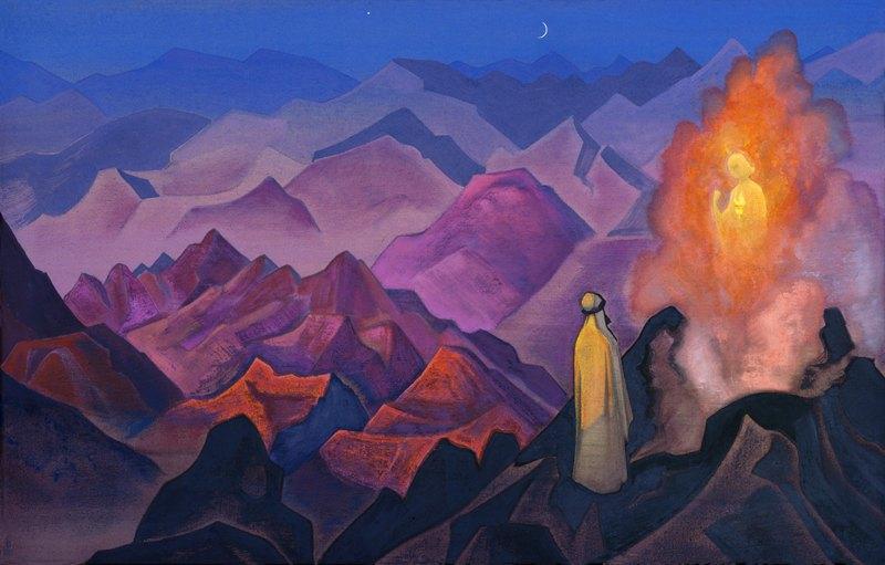 Рерих , Николай Константинович (1874 - 1947) - Магомет-пророк 1932 на Sibnet