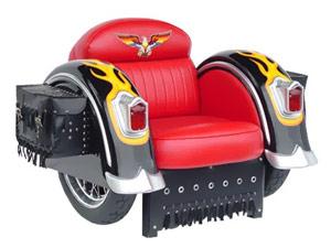 Кресло для байкера