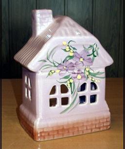 Аромалампа-домик