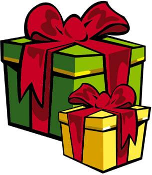 Подарки в яркой упаковке