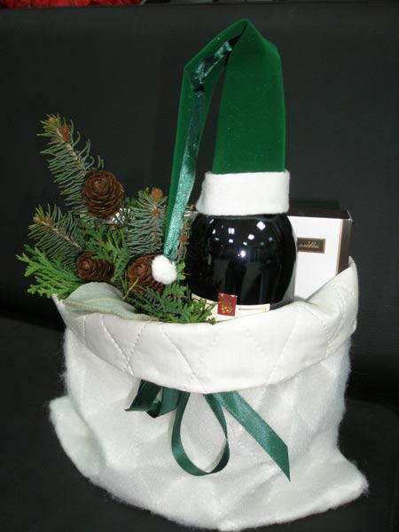 Флористическая упаковка подарка