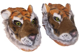 Тапочки-тигрята