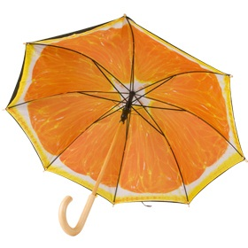 Зонт-апельсин
