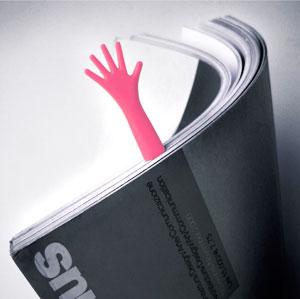 Закладка в виде руки