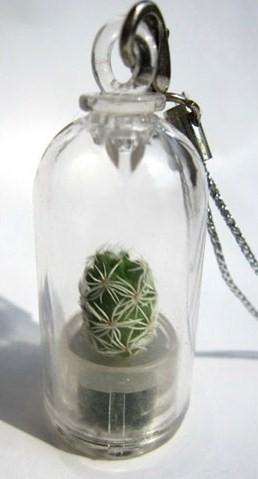 Брелок-кактус