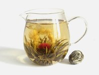 Заваренный связанный чай