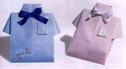 Упаковка в виде рубашки