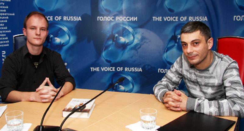 конечно же, армен гаспарян на радио голос россии уже