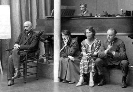 ЗА РОЯЛЕМ - ФОМА ГАРТМАН, А ОСТАЛЬНЫХ ВЫ ЗНАЕТЕ. ПАРИЖ, 1922