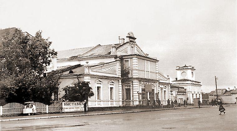 ФИНСКИЙ ТЕАТР. ПЕТРОЗАВОДСК. 1940-Е ГОДЫ