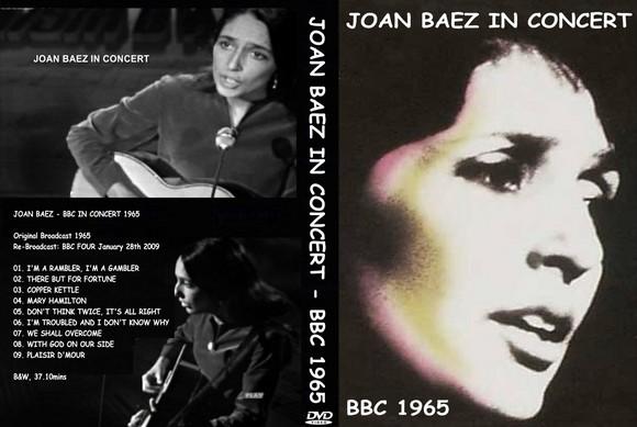 JOAN BAEZ IN CONCERT 1965