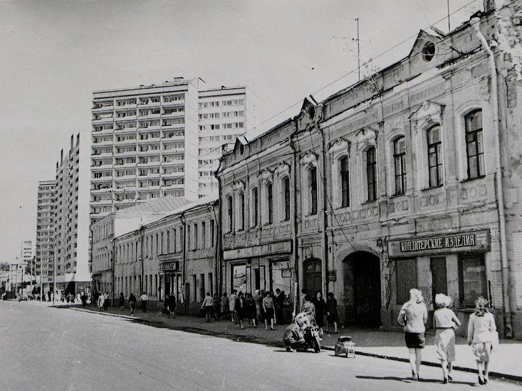 МОСКВА. НЕМЕЦКАЯ СЛОБОДА. ФОТО 1980 ГОДА