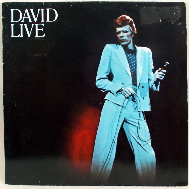DAVID BOWIE 1974 DAVID LIVE